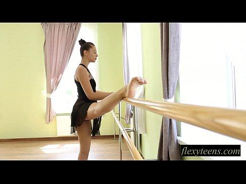 Nude brunette teen gymnast Regina